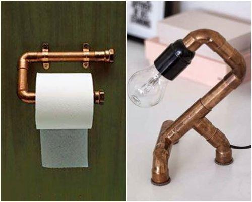 ¡Decomanitas descubre cómo decorar reciclando tuberías de cobre! 6