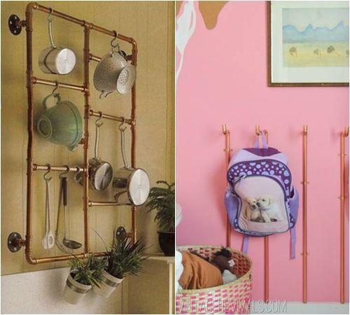 ¡Decomanitas descubre cómo decorar reciclando tuberías de cobre! 8