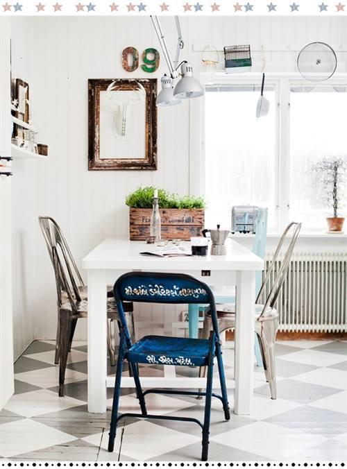 Ltimas tendencias en decoraci n comedores vintage con for Ultimas tendencias en decoracion