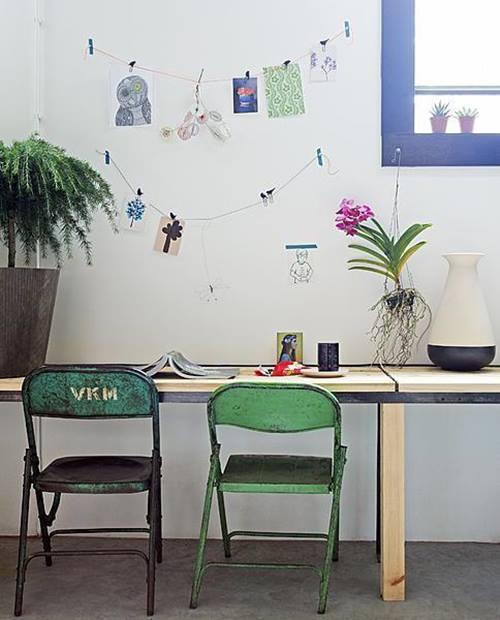Últimas tendencias en decoración comedores vintage con sillas mix and match 9