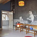Cómo decorar paredes originales con fotomurales de ciudades 5