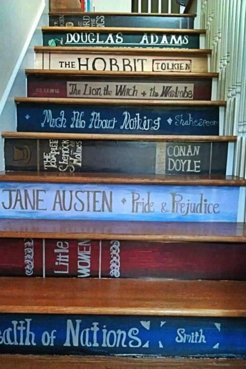 Decorar escaleras con ideas creativas para hacer tú mismo 1