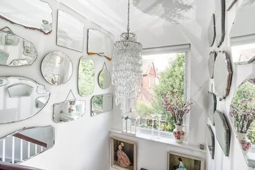 Espejos decorativos para habitaciones vintage 4