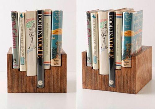 Estantes para libros DIY bonitos y funcionales 2