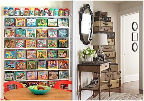 Ideas para decorar con colecciones de objetos curiosos 6