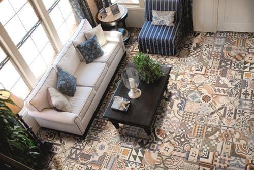 Tendencias en revestimientos qué baldosas y azulejos poner para decoración vintage 10