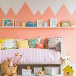 Dos colores para paredes ideales para cuartos infantiles