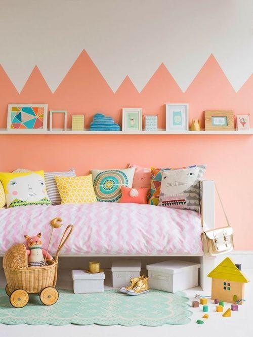 los mejores colores para paredes para cuartos infantiles