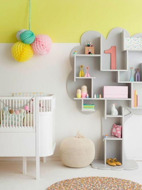 los mejores colores para paredes para cuartos infantiles 2