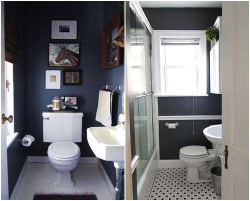 cómo decorar baños pequeños | decomanitas - Diseno De Banos Pequenos Bajo La Escalera