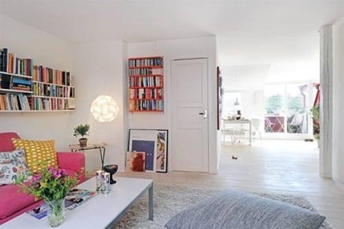 Decoración de interiores chic para ampliar una casa pequeña 5