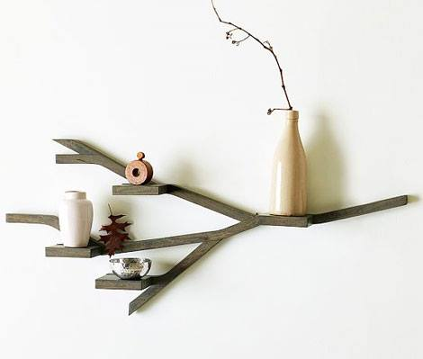 Estanterías originales para libros en forma de árbol 4