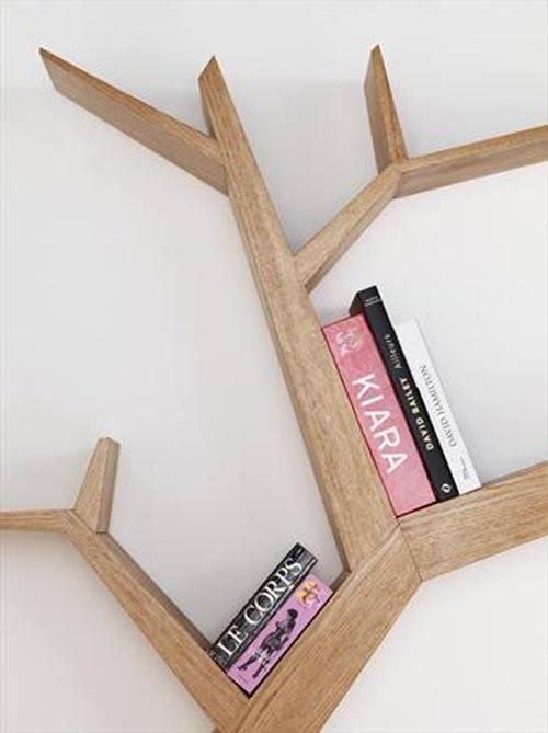 Estanterías originales para libros en forma de árbol 7