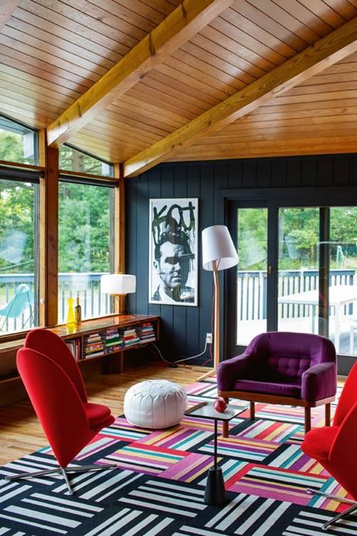 Muebles de colores para una decoración de interiores atrevida y singular 2