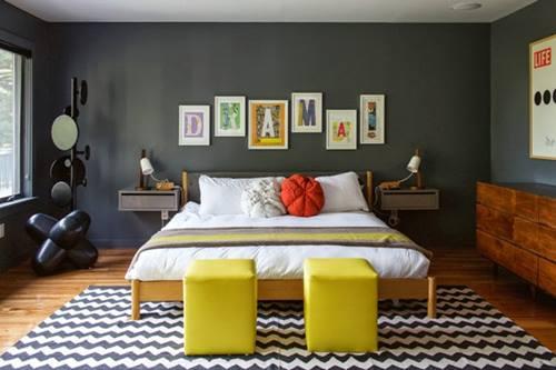 Muebles de colores para una decoración de interiores atrevida y singular 6