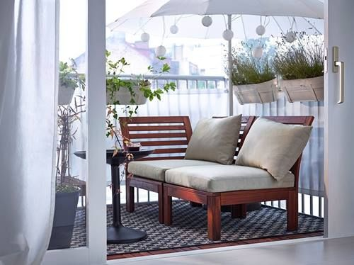 Muebles De Terraza Para Espacios Pequeños By Ikea Decomanitas