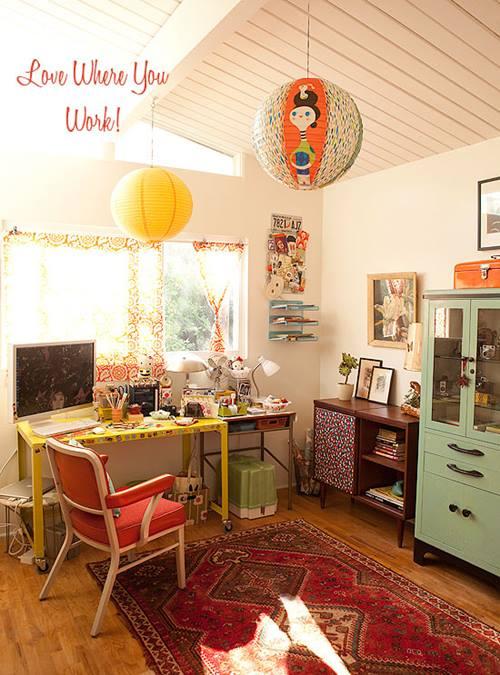 Una casa con decoración retro muy inspiradora 2