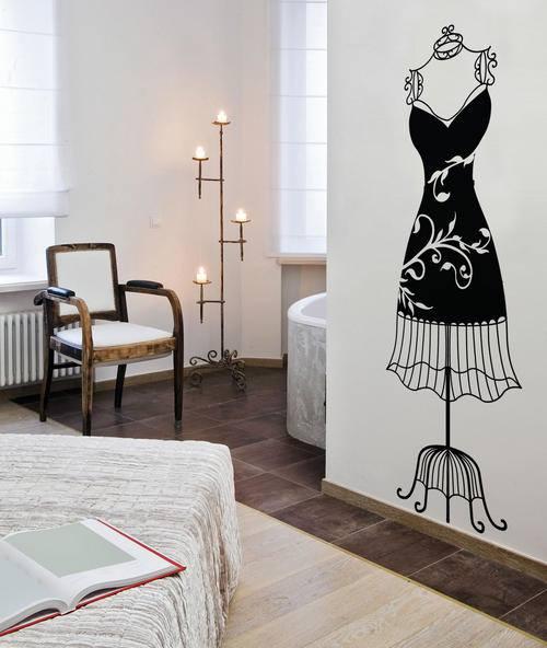 Vinilos decorativos para decoración de interiores vintage 8