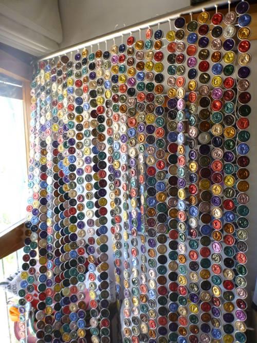 Cómo hacer cortinas con cápsulas Nespresso paso a paso 4