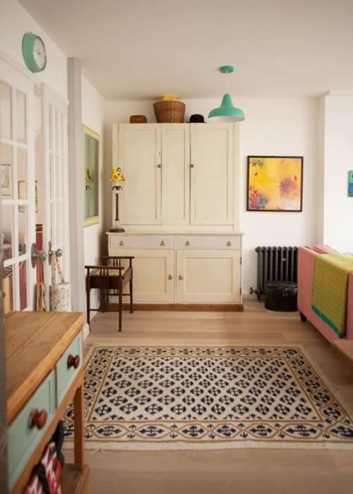 Decoración vintage para una casa que parece de caramelo... 5