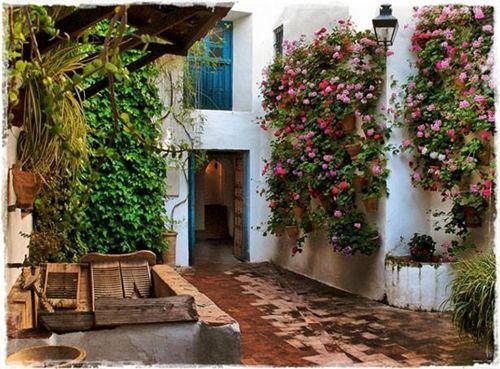 patios de Córdoba con lavaderos tradicionales