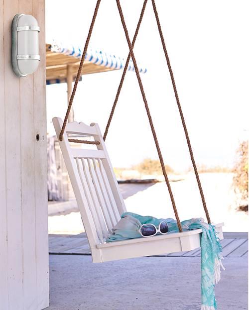 Muebles de jardín con efecto relax hamacas, columpios, mecedoras 2