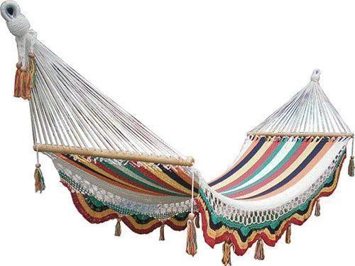 Muebles de jardín con efecto relax hamacas, columpios, mecedoras 7