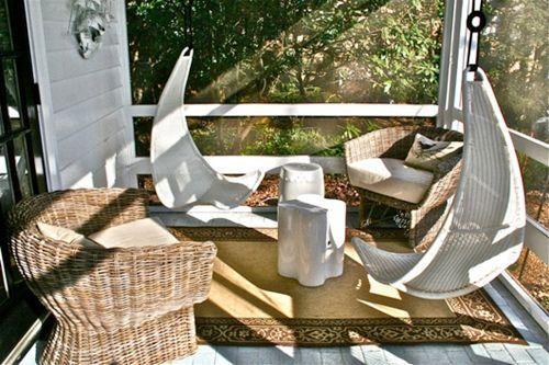 Muebles de jard n con efecto relax hamacas columpios mecedoras decomanitas - Columpio jardin ikea perpignan ...