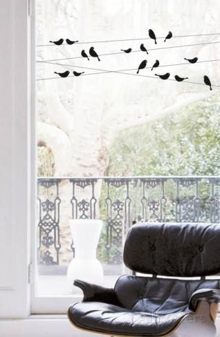 Vinilos para ventanas que sirven para decorar y dar