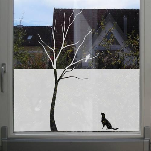 Vinilos para ventanas que sirven para decorar y dar intimidad 5