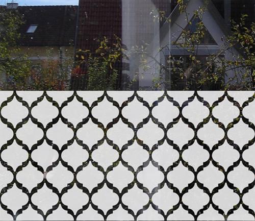 Vinilos para ventanas que sirven para decorar y dar intimidad 6