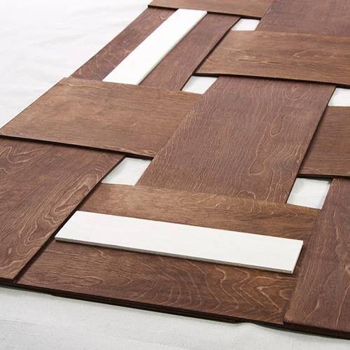 Cabeceros de cama originales para hacer con tiras - Hacer cabecero de madera ...