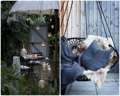 Ideas de decoración inspiradoras para porches, jardines y terrazas 4