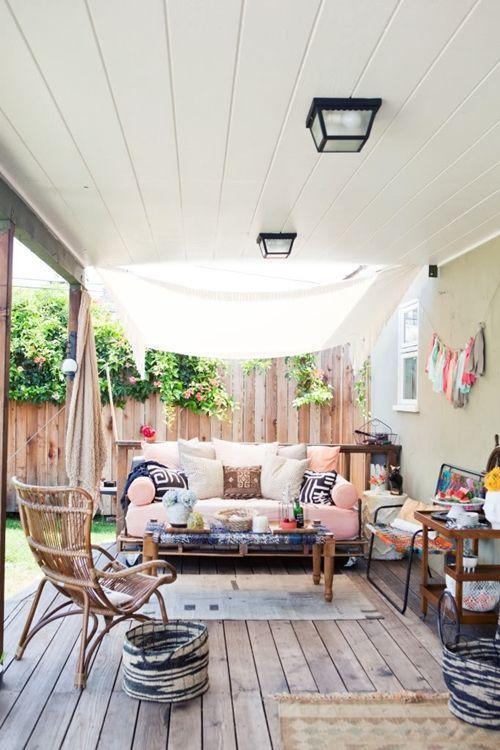 Ideas de decoración inspiradoras para porches, jardines y terrazas 8