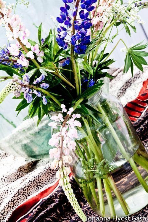 Jarrones con flores para decoracion de interiores 4