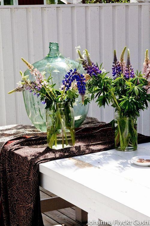Jarrones con flores para decoracion de interiores 5