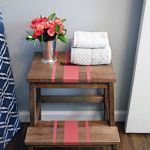 Tunear muebles Ikea: una escalera de madera con mil y un usos