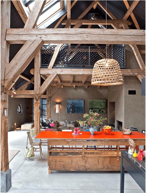 Casas con encanto de vieja granja a alegre casa en Holanda 01