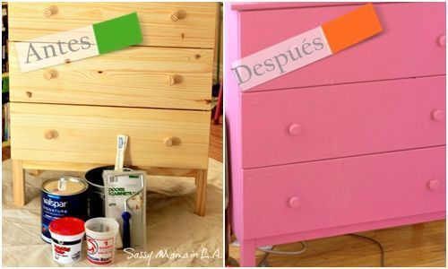 Cómo hacer chalk paint o pintura a la tiza en casa para decorar muebles