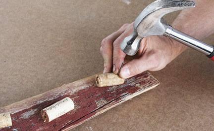 Manualidades para decorar la casa idea con plantas crasas reciclando tapones de corcho 9