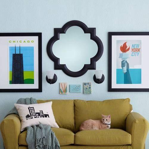 Nuevas ideas para decorar paredes 5