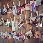 Decorar con fotos sujetas por pinzas (easy & trendy) 5