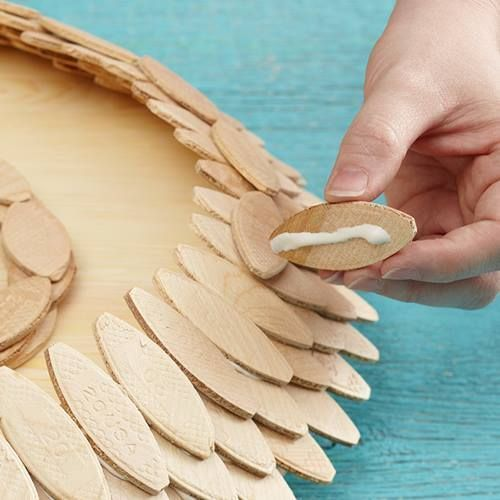 Ideas de decoración orienta flor de madera DIY para chill out 8