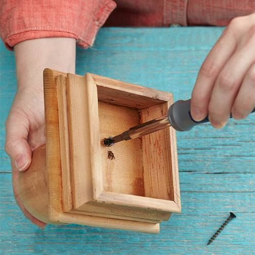 Ideas de decoración oriental flor de madera DIY para chill out 4