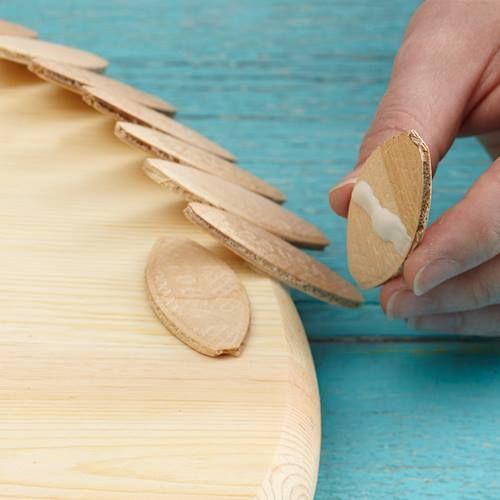 Ideas de decoración oriental flor de madera DIY para chill out 7