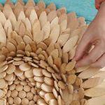 Ideas de decoracion oriental flor de madera DIY para chill out 20