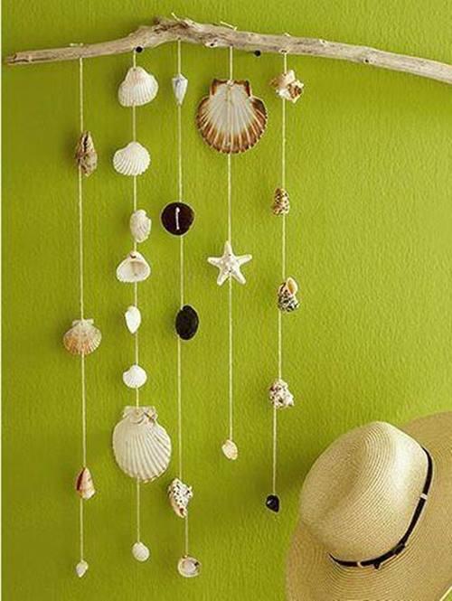 Ideas para decorar con recuerdos de las vacaciones 2
