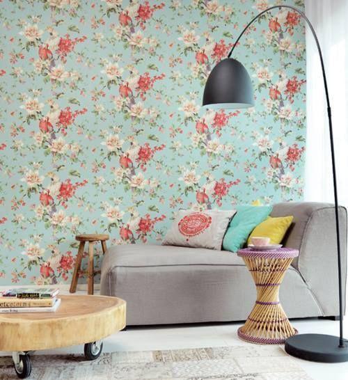 Papel pintado vintage con diseños que enamoran...1