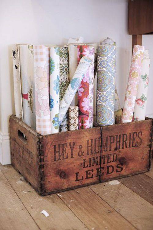 Papel pintado vintage con diseños que enamoran...5