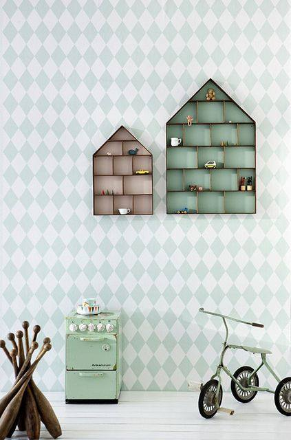 Papel pintado vintage con diseños que enamoran...6